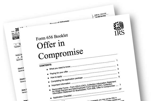 IRS Solutions - Form 656 offer in compromise software