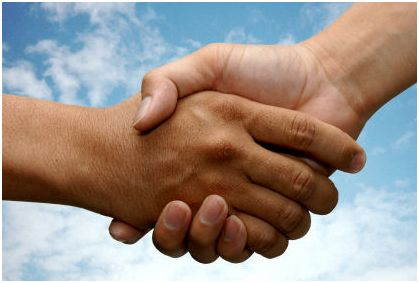 handshake, managing client relationships, Trump Keep Promises, customer service