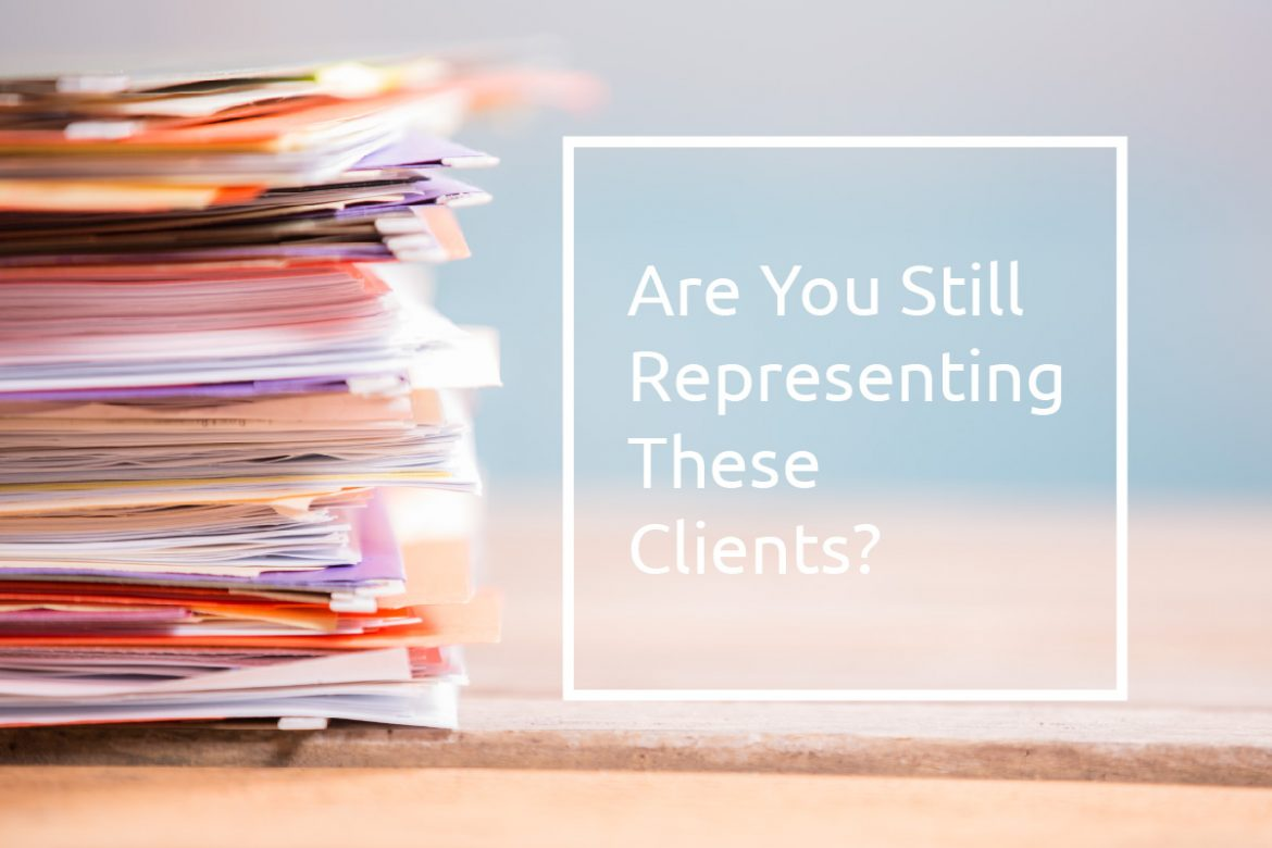 Irs Solutions Are You Still Representing These Clients
