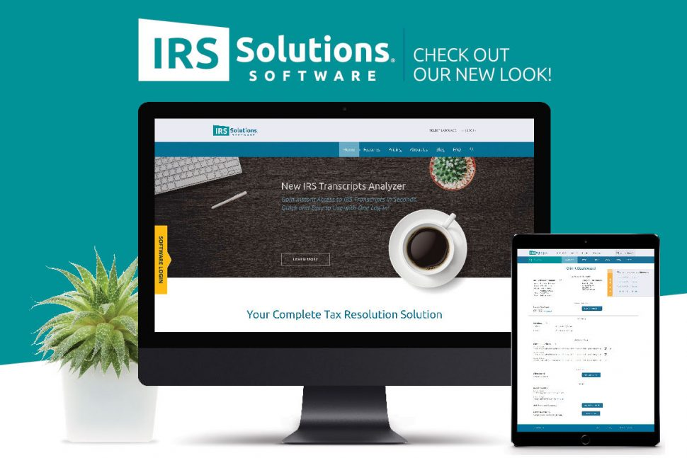 IRS Solutions Software: Check Out Our New Look!