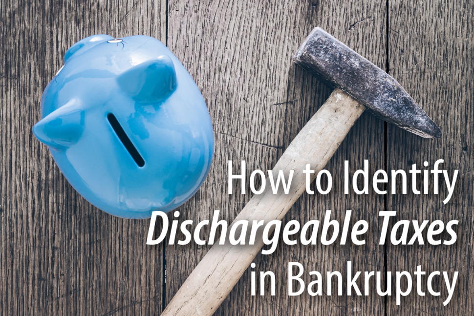 Tax debt forgiveness in bankruptcy