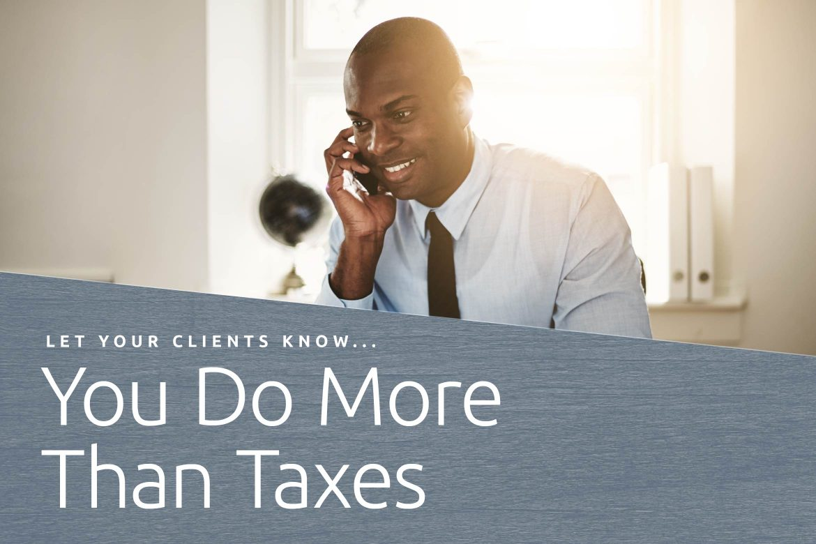 do more than taxes