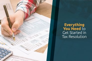 get started in tax resolution