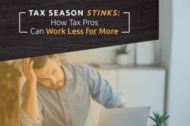 tax season stinks